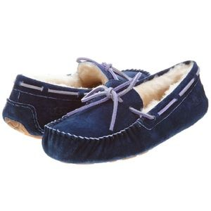 Ugg Dakota Blue Slippers Moccasins Size 8